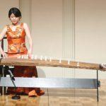 木原朋子さんによる美しい筝の演奏